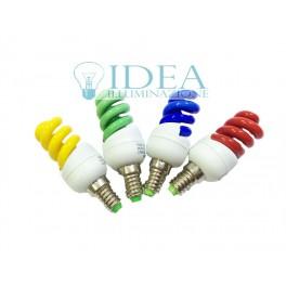 Spirale E14 - 13w colorK