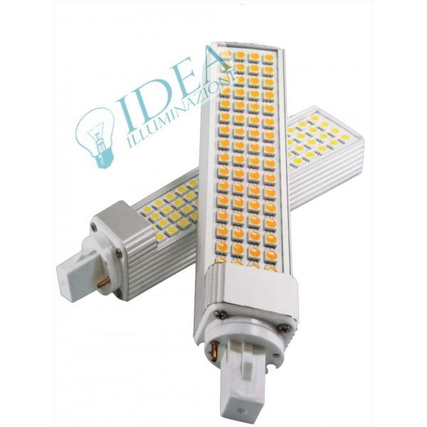 Lampadine Led G24.Lampadina Pl Light Led G24 64 Led Smd 12w 6500k