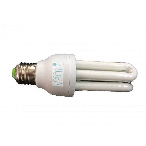 Lampadina a risparmio energetico 3 tubi e27 26w for Faretti a risparmio energetico
