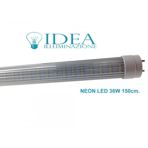 neon led smd t8 led tube 150cm 36w 6500k. Black Bedroom Furniture Sets. Home Design Ideas