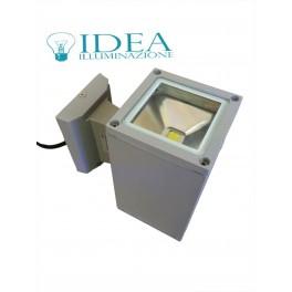 Applique Led da parete doppia emissione di luce 2x7W