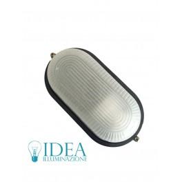 Plafoniera esterno policarbonato ovale E27 IP65