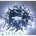 Serie luminosa natalizia 100 Led bianca con Controller