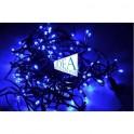 Serie luminosa natalizia 100 Led Blu con Controller