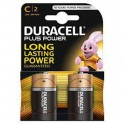 Batterie Duracell 1/2 Torce C2 Long Lasting Power Plus Power