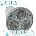 GU10 power Led 3x1w 6500K