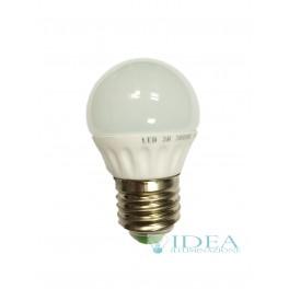 Mini globo LED E27- 3w 3000K