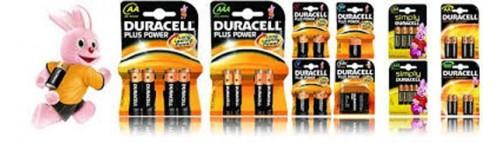 Pile e batterie Duracell & Sony